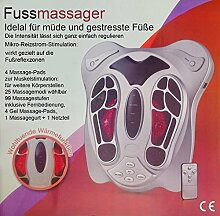 Fussmassagegerät mit Wärmefunktion und 99 Massagestufen