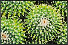 FUßMATTE 50/75 cm Kaktus Grün
