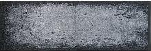 FUßMATTE 60/180 cm Graphik Grau