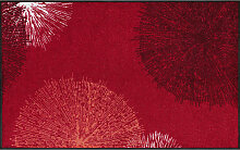 FUßMATTE 75/120 cm Graphik Rot