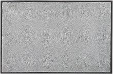 FUßMATTE 75/120 cm Uni Grau