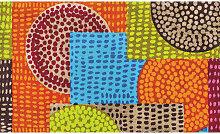 FUßMATTE Abstraktes Multicolor