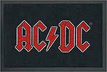 Fußmatte - AC/DC - Logo | Fußabtreter Haustür |