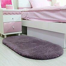 Fußmatte Badezimmer Wasserabsorption Teppich Schlafzimmer Küche Rutschfeste Matte ( farbe : E , größe : 60*120cm )