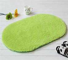 Fußmatte Badezimmer Wasserabsorption Teppich Schlafzimmer Küche Rutschfeste Matte ( farbe : C , größe : 60*200cm )
