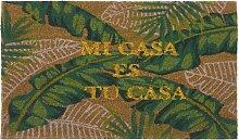 Fußmatte bedruckt mit tropischem Motiv 45x75