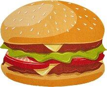 Fußmatte Burger, braun (45/55 cm)