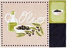 Fussmatte Cardea Olio Design 15   50x70 cm