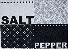 Fussmatte Cardea Salt & Pepper Design 16   50x70 cm