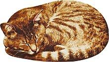 Fußmatte Cat, braun (34/60 cm)