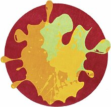 Fußmatte Circle Blob Ebern Designs Farbe: