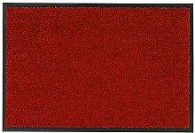 Fussmatte Diamant 10 Rot | 90x150 cm