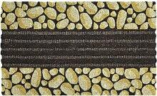Fußmatte Dianna Ebern Designs Farbe: Gelb/Braun