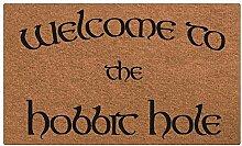 Fußmatte Eingang Willkommen in der Hobbit