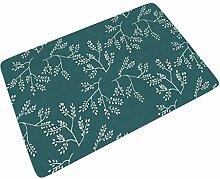 Fußmatte Fussmatte Blaugrünes Weihnachten