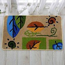 Fußmatte/Fußpolster/Fußmatten/Wasserabsorbierenden rutschfeste Badematte/Küche-Fußmatten-B 40x60cm(16x24inch)