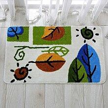 Fußmatte/Fußpolster/Fußmatten/Wasserabsorbierenden rutschfeste Badematte/Küche-Fußmatten-C 40x60cm(16x24inch)