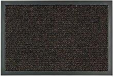 Fussmatte Graphit braun 130x200 cm
