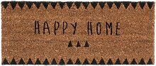 Fußmatte Happy Home 25x55