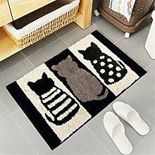 Fußmatte Katze Fußabstreifer für Innen
