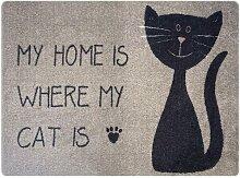 Fußmatte Katze My Home Alivia Brayden Studio
