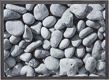 Fußmatte Kiesel, grau (38/59 cm)