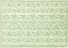 Fußmatte MANHATTEN TRIANGLE 50 x 70 cm grün