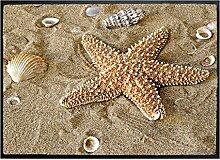 Fußmatte Maritim B x H: 85cm x 60cm von Klebefieber®