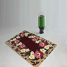 Fußmatte-Matten Eingangsmatten Schlafzimmer Home Küche Matte Badematte Fußmatte ( größe : A )