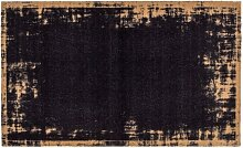 Fußmatte MIABELLA BORDÜRE 66 x 110 cm schwarz