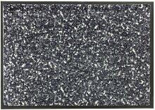 Fußmatte MIAMI MEZZOPOINT 50 x 70 cm schwarz/grau