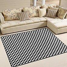 Fußmatte Modern Carpet Rectangle Teppich für