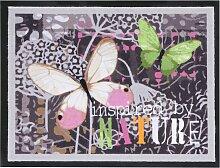 Fußmatte Nature, lila (40/60 cm)