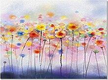 Fussmatte Pflanze Blumen Aquarell Kunst Teppiche