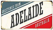 Fußmatte Stadt Adelaide Australien bedruckt 99x55