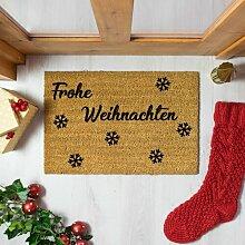 Fußmatte Tobias Frohe Weihnachten Die Saisontruhe