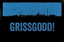 FUSSMATTE Türmatte GRISSGODD Stuttgart Geschenk