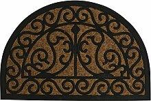 Fußmatte Türmatte Nostalgie 40x60cm halbrund