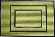 Fußmatte waschbar rutschfest Grün 60 x 80 cm Türmatte 3 Größen Wash & Clean