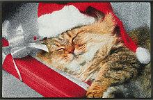 FUßMATTE Weihnachten Multicolor