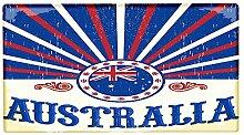 Fußmatte Welt Reise Australien bedruckt 99x55 cm