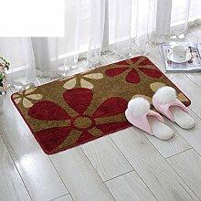 Fußmatten/Eingang-Fußmatte/Schlafzimmer Küche Halle Bad Saugkissen/Rutschfeste Badematte-G 40x60cm(16x24inch)