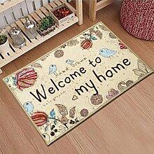 Fußmatten/Fußabtreter/Küche Zu Hause Matten/Fußmatten In Der Halle/Anti-schiebe-tür Eingangsmatten/Wasserabsorbierenden Matten-A 60x90cm(24x35inch)