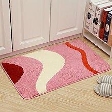 Fußmatten,Fußabtreter,Matten In Der Halle,Küche WC Bad Matte,Sanitär Saugfähigen Teppich Matte Vor Der Tür-U 40x60cm(16x24inch)