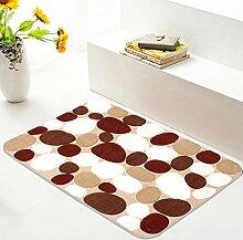 Fußmatten/Fußpolster/Saugfähige Matte/Badematte/Küche-Matte/Automatten/Fußmatte/Eingangsmatten-C 50x80cm(20x31inch)