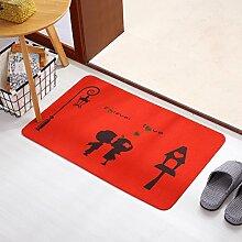 Fußmatten non slip boden decken schlafzimmer living zimmer tür patio einfahrt footcloth tür-O 18*24inch(40*60cm)