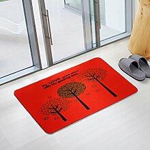 Fußmatten non slip boden decken schlafzimmer living zimmer tür patio einfahrt footcloth tür-R 18*24inch(40*60cm)