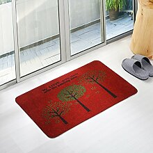 Fußmatten non slip boden decken schlafzimmer living zimmer tür patio einfahrt footcloth tür-D 24*35inch(60*90cm)