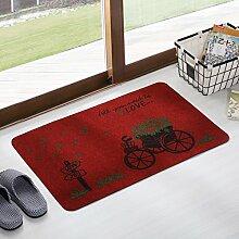 Fußmatten non slip boden decken schlafzimmer living zimmer tür patio einfahrt footcloth tür-A 24*35inch(60*90cm)