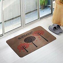 Fußmatten non slip boden decken schlafzimmer living zimmer tür patio einfahrt footcloth tür-W 31*47inch(80*120cm)